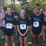 Jr. High Knights Cross Country Competes at the Tecumseh Invite;  Poindexter Wins Girls Race