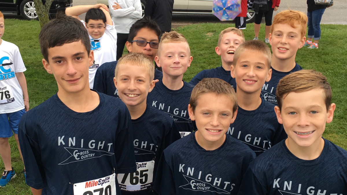 7th Grade Boys Reach The Podium At The Rensselaer Invite; Poindexter Wins the Girls Race