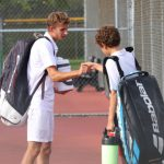 Knights Boys Varsity Tennis Falls to West Lafayette In Sectional Tournament