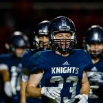 Knights fall to Tri-West 22-7