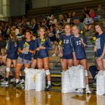 CC Varsity Volleyball vs  Rossville 2018-10-4 Senior Night