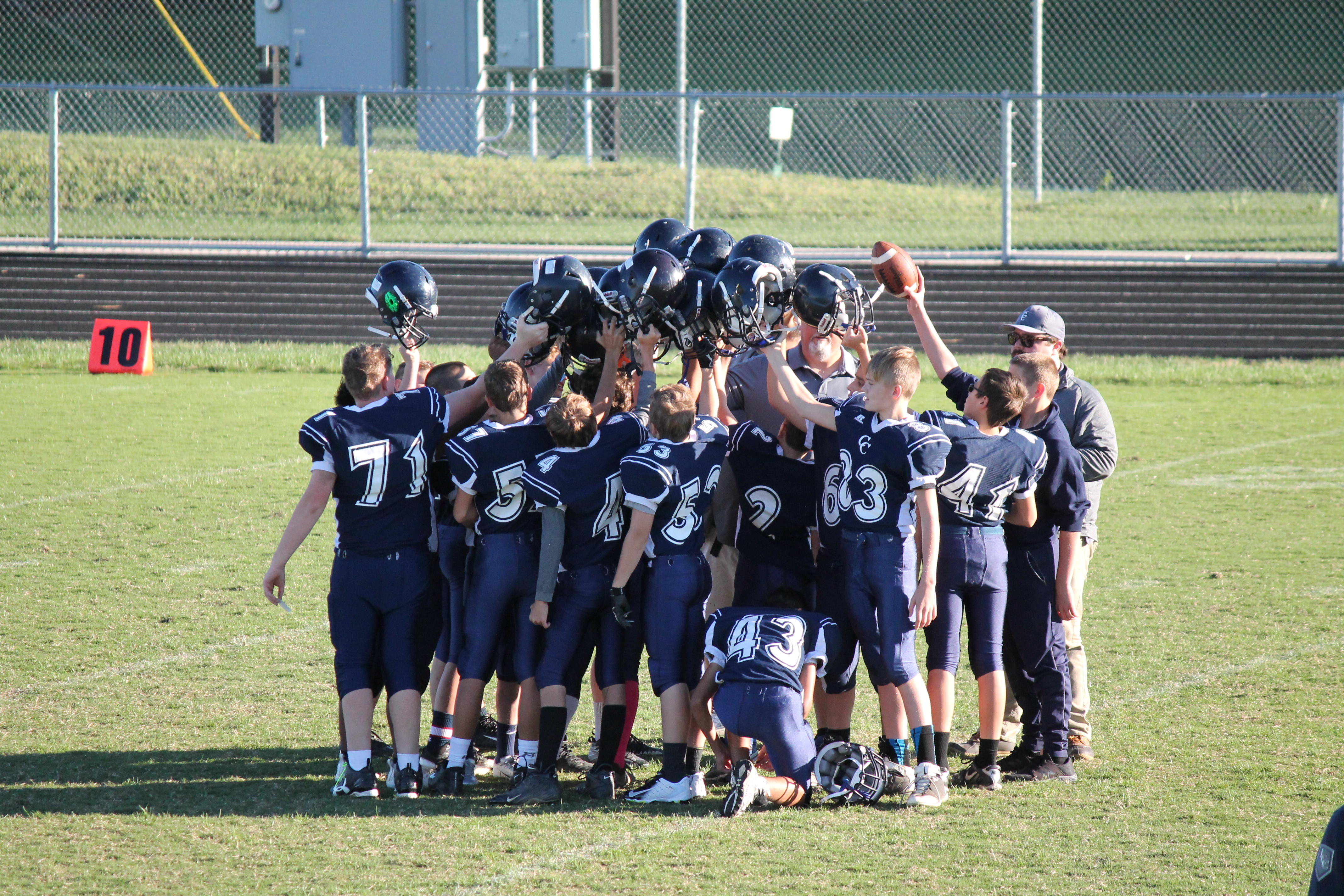 7th Grade Football vs Twin Lakes Crossover Game