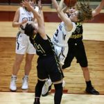 Lady Knights fall in Franciscan opener to Lady Bison Nov 13th