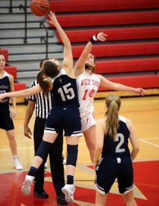 CC Girls Junior Varsity Basketball vs West Lafayette 1-18-19