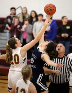 CC Girls Junior Varsity Basketball vs Faith 1-10-19