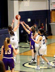 CC Girls Junior Varsity Basketball vs Northwestern 1-18-19