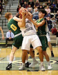 CC Boys Varsity Basketball vs Benton Central 1-11-19