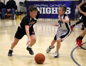 CC Boys 7th Grade Basketball vs Clinton Prairie 12-5-18