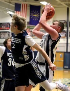 CC Boys 8th Grade Basketball vs Seeger 1-5-19