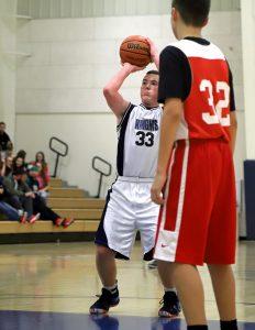 CC Boys 8th Grade Basketball vs Clinton Prairie 12-5-18