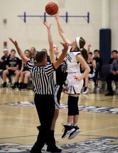 CC Girls 8th Grade Basketball vs Wea Ridge 1-24-19