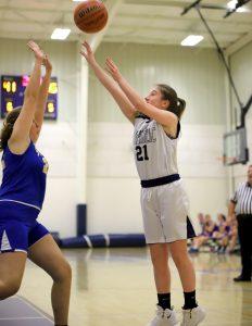 CC Girls 7th Grade Basketball vs Saint James 1-21-19
