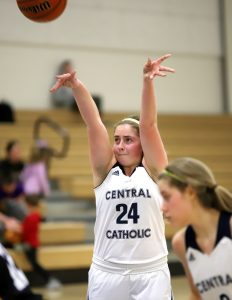 CC Girls Junior Varsity Basketball vs Guerin Catholic 1-25-19
