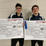 Sectional Champions Dominic Skees and Isaac Switzer