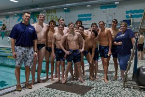 CC Boys Varsity Swimming Benton Central Quads 2019-2-7