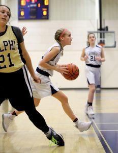CC Girls 7th Grade Basketball vs Delphi 2-14-19