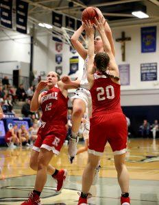CC Girls Varsity Basketball vs Rossville Sectional 2-19