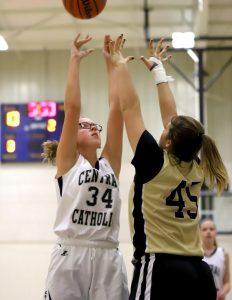 CC Girls 8th Grade Basketball vs Delphi 2-14-19
