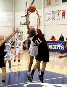 CC Girls 7th Grade Basketball vs Faith Christian 3-4-19