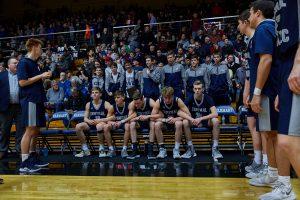 CC Boys Varsity Basketball vs Blackhawk Christian Semi-State 2019-3-16