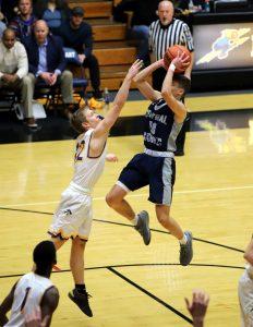 CC Boys Varsity Basketball vs Blackhawk Christian Semi-State 3-16-19