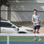 Boys Tennis Scrimmage at Lafayette Jeff HS