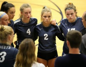 CC Girls Varsity Volleyball Scrimmage vs Frontier 8-14-19