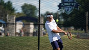 Boys Tennis – Jeff at CC 8/28/2019