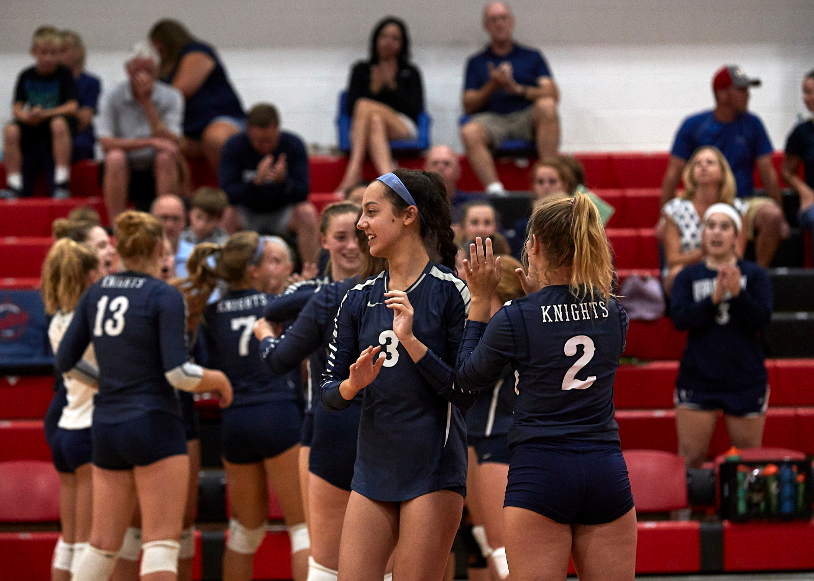 Knights sweep the Bronchos