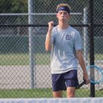 Boys Varsity Tennis beats Benton Central