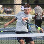 Boys Varsity Tennis beats Frankfort
