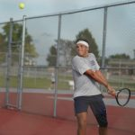 Knights Boys Tennis Competes at Hoosier Conf. Tourney