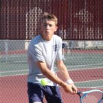 Boys Varsity Tennis falls to McCutcheon