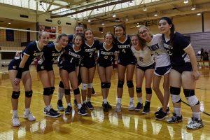 CC JV-Volleyball Portage Invite 2019-9-28