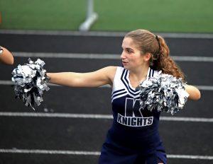 CC Girls Junior High Cheer vs Wea 10-10-19