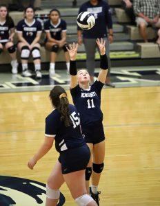 CC Girls Junior Varsity Volleyball vs McCutcheon 10-9-19