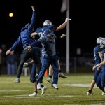 Football Knights Survive and Advance in 40-6 Win Over Clinton Central