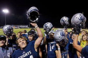 CC Varsity Football vs Western Sr. Night 2019-10-18