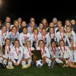 The Lady Knights take 2nd place in Class A Soccer