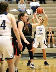CC Girls Junior Varsity Basketball vs Clinton Prairie 11-16-19