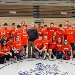 Knight Wrestlers Raise $600 to Pin Cancer