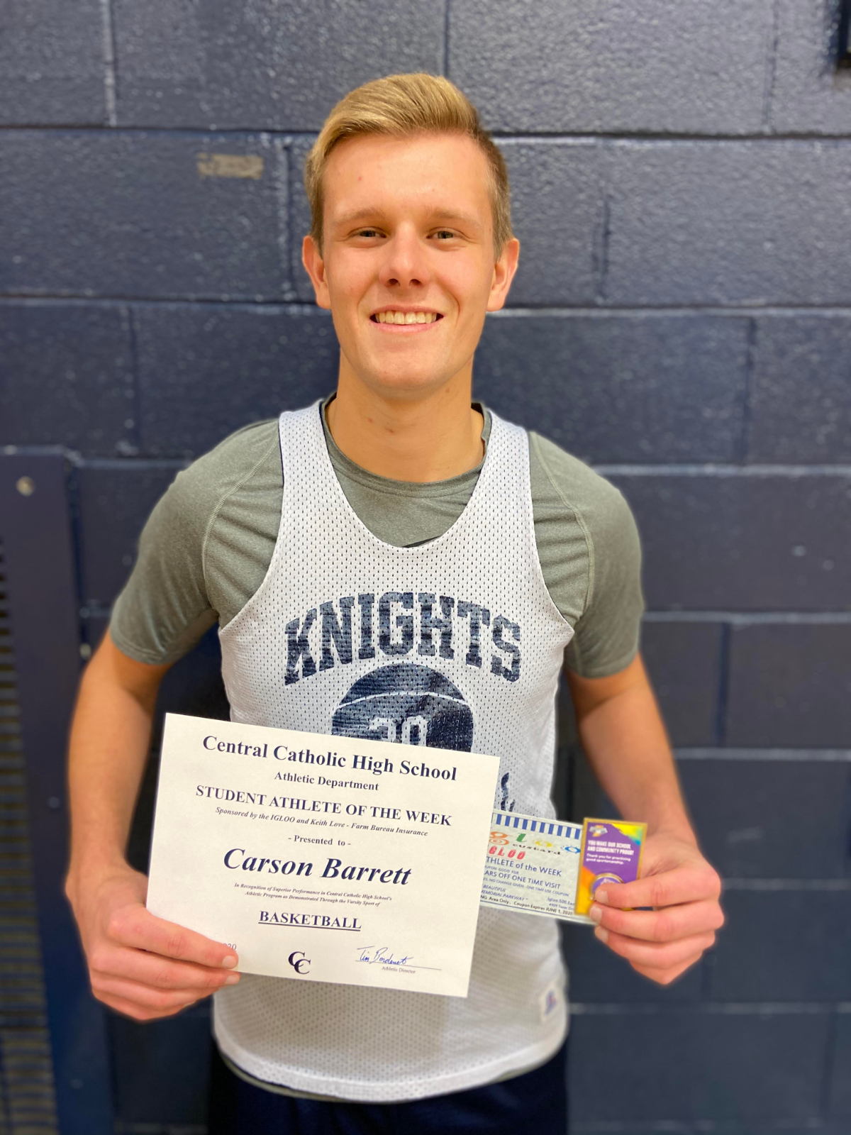 Student Athlete of the Week