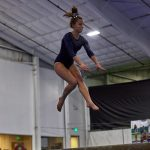 Knights Gymnasts Finish Regular Season at Logansport