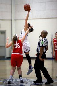 CC Girls 7th Grade Basketball vs Clinton Prairie 2-25-20