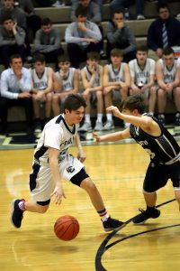 CC Boys Junior Varsity Basketball vs Western 2-22-20