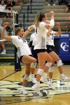 Knights Volleyball sweep the Bronchos