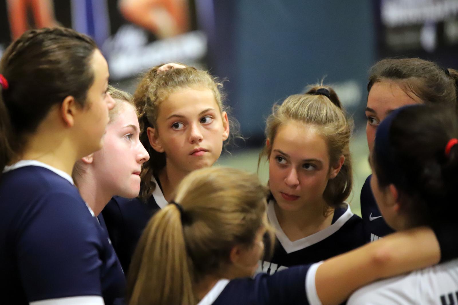 CC Girls JV Volleyball vs Crawfordsville 9-14-20