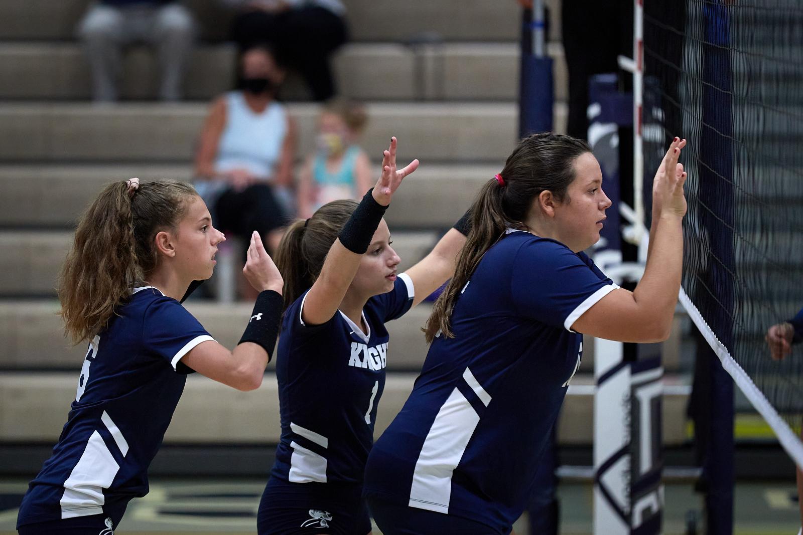 CC JV Volleyball Sweeps  Crawfordsville 2020-9-14