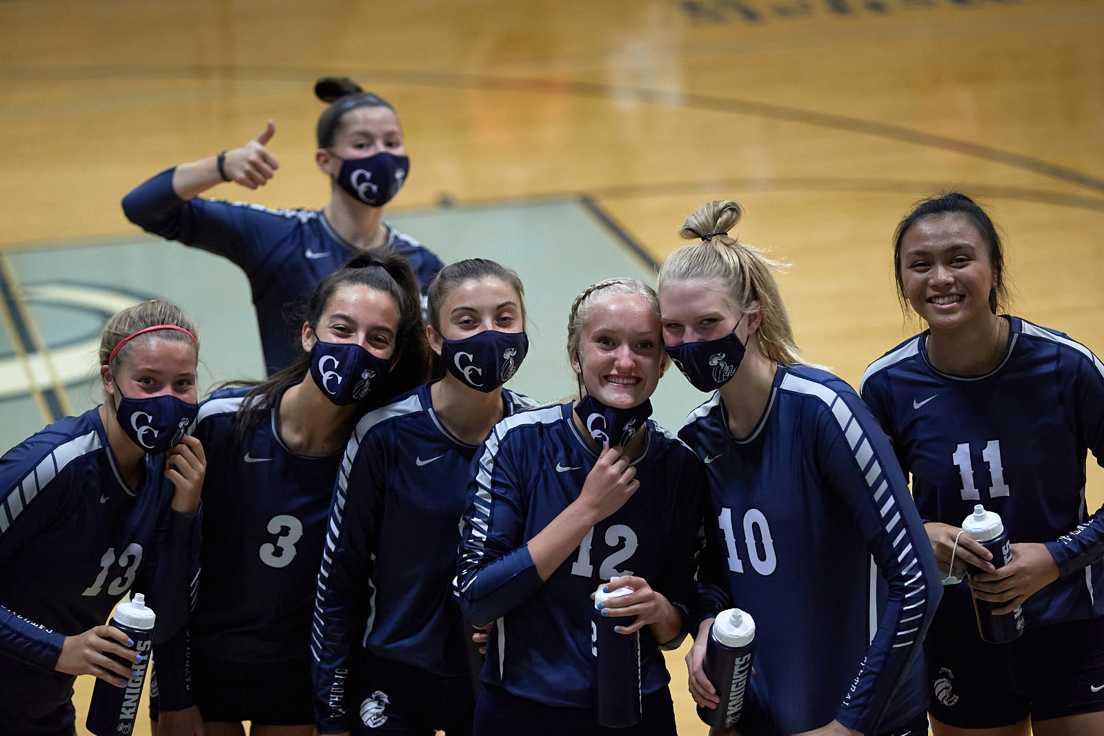CC Varsity Volleyball Yields 3 Sets to Crawfordsville 2020-9-14