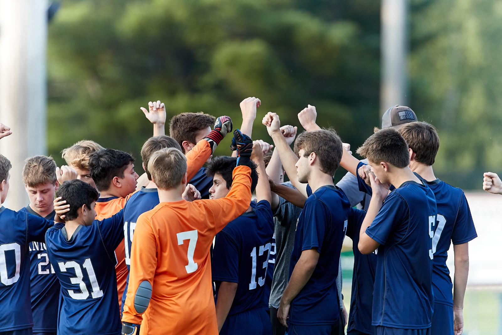CC Boys Varsity Soccer Falls to McCutcheon 2020-9-15